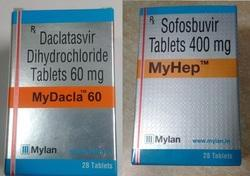 MYLAN My Dacla 60 MyHep Tablet, Packaging Type: Bottle, Packaging Size: 28 Tablets