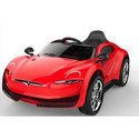 Red Rechargeable Swinging Function Ride On Car