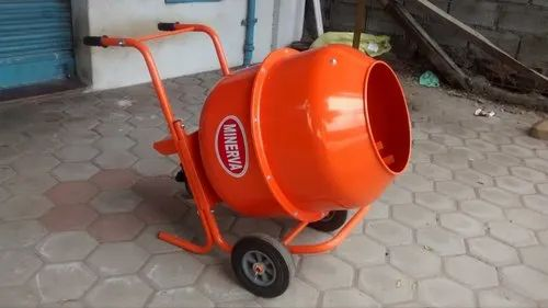 1 Hp Electric Engine Baby Mixer Handy Model, For Construction, Capacity: 180 Ltr