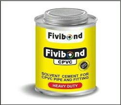 Industrial Grade Fivi Bond CPVC Fitting Adhesive