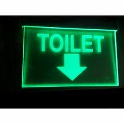 LED Toilet Age Light Signage