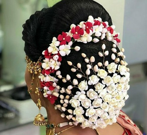 Miraculous Saumakshi Designs Artificial Flower Hair Bun Rs 450 Piece Id Schematic Wiring Diagrams Phreekkolirunnerswayorg