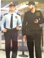 Men Trovin Security Guard Uniforms
