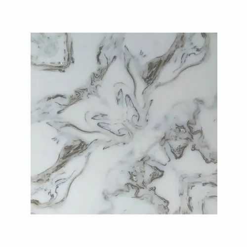 Glossy Square Modern Ceramic Floor Tiles, Thickness: 8-10 mm, Packaging Type: Box