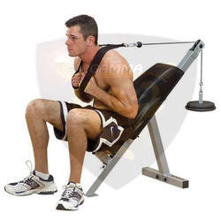 Free Weights Lifting Ab Bench