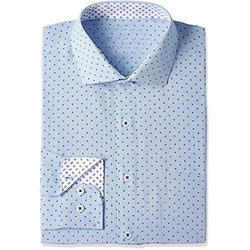 Cotton Full Sleeve Casual Shirt, Size: S to XL