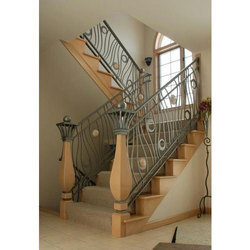 Mild Steel Staircase Railing
