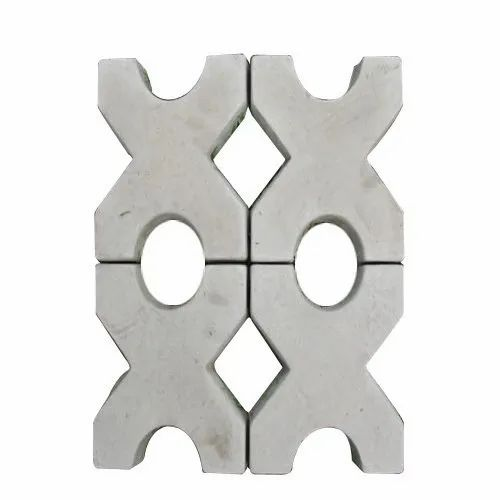 Square Concrete Grass Paver Block for Landscaping