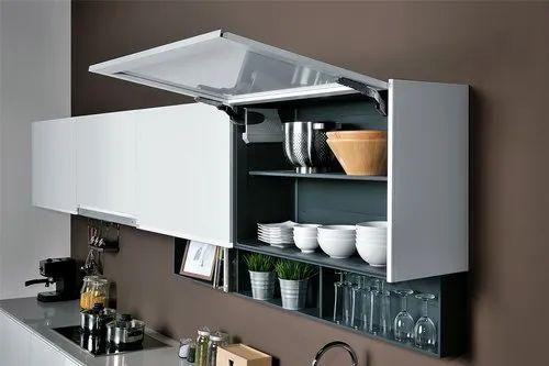 Modern Modular Kitchen Overhead Storage