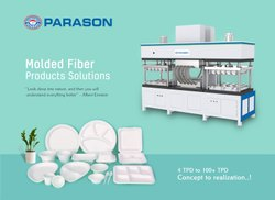 Parason Pulp Paper Molded Fiber Products Solutions, For Industrial, Location: Aurangabad, Maharashtra