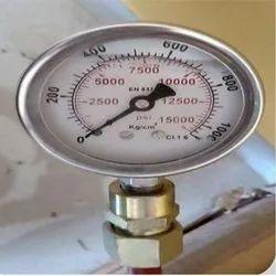 Glycerin Filled Hydraulic Pressure Gauge