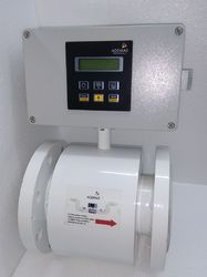 Compact Type Electromagnetic Flow Meter