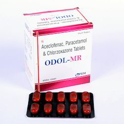 Aceclofenac, Paracetamol & Chlorzoxazone Tablet