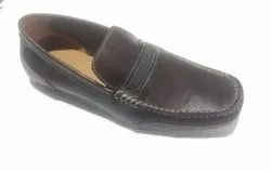 Brown Male Moccasin Shoes, Size: 6 To 10