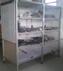 2x4 Product Display Unit with Storage