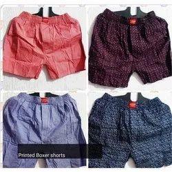 Cotton Mens Shorts Bermuda