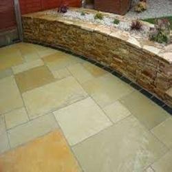 Stone Flooring Yellow Lime Stone