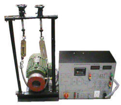 Three Phase Ac Motor Setup For Speed Control And Torque Test Trainer