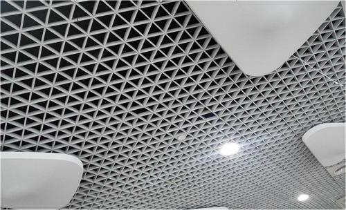 Aluminum Triangle Open Cell Ceiling Ld Square