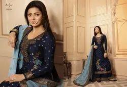 Designer Embroidered Salawar Suit