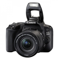 Canon EOS 200D 24.2MP DSLR Camera with EF-S 18-55 mm