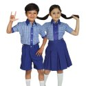 Cotton Coller School Uniform, Packaging Type: Box