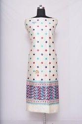 silk 42 inch Handmade Phulkari Kurtis, Size: Upto 46