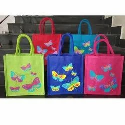 Anoo's Thamboolam Jute Bags, For Shopping, Bag Size: 10*10*4 Inch