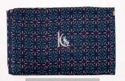 Indigo Blue Multi Colorful Fast Vegetable Color Block Print Cotton Fabric