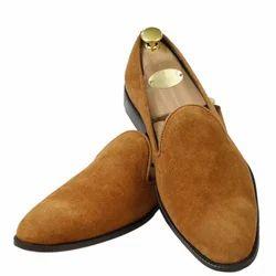 Meraki Casual Wear Mens Suede Loafer Shoes