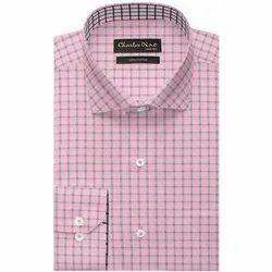 Charles Dino Collar Neck Mens Designer Cotton Shirt