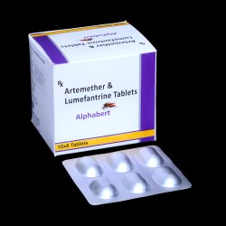 Artemether 80mg & Lumefantrine 480mg Tablets
