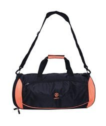 Black and Orange Duffle Bags