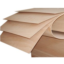 Brown Plain Flexible Wooden Plywood