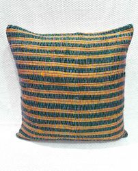 Silk Chindi Cushion Cover