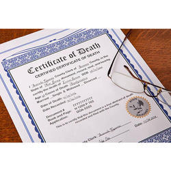 Death Certificate Attestation Services in India