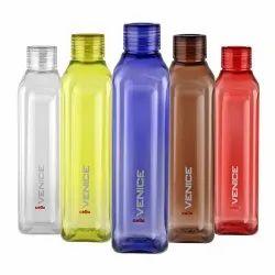 Round Cello Venice Exclusive Edition Plastic Water Bottle Set, 1 Litre