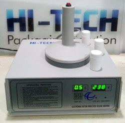 Hi-Tech Induction Sealing Machine, Model Number/Name: HS-PIS-A, Capacity: 300 Per Hour Approx