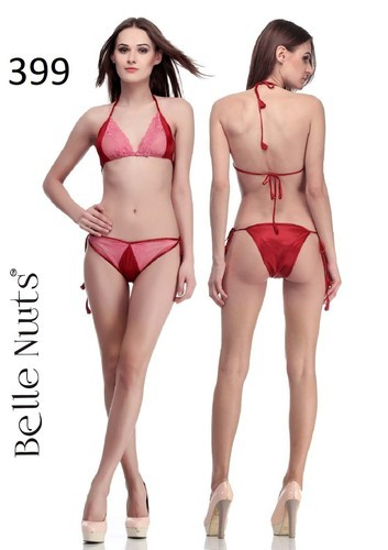 ec29cfb9a0f64 Belle Nuits Maroon Bra   Panty Sets at Rs 399  set