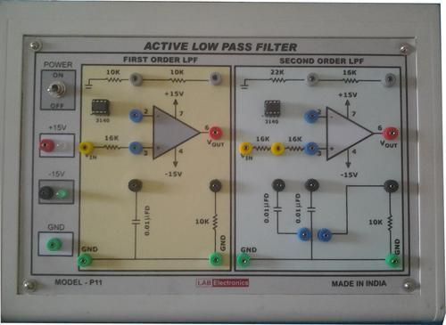 Model P 11 Active Low Pass Filter - Lab Electronics, Chennai