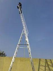 Aluminium A Type Extendable Ladder
