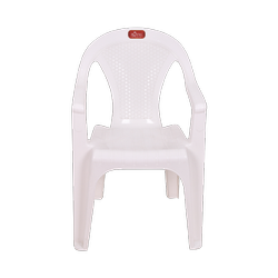 White Metal Royal Crystal Chair, For Home