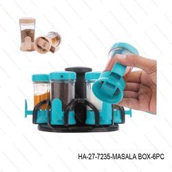 Spice Rack Masala Box 360 Degree Revolving-HA-27