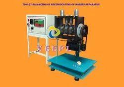 Balancing Of Reciprocating Masses Apparatus