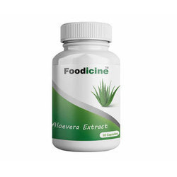 Aloe Vera Extract Capsule, Packaging: Bottle