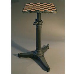 Industrial chess table industrial Furniture