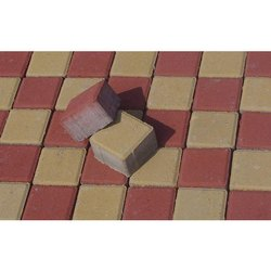 Concrete Square Parking Paver Block, Thickness: 20-50 mm