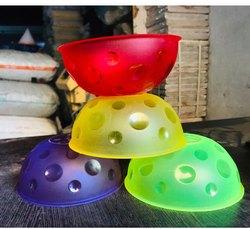 maa plast Round Plastic Bowl, Packaging Type: Box, Size: 8 Inch