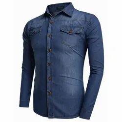 Kiwi Regular Mens Denim Shirt