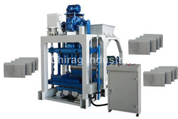 Semi Automatic Block and Brick Making Machine